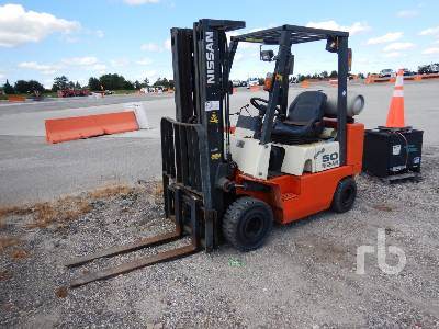 NISSAN APJ02A25PV 4350 Lb Forklift