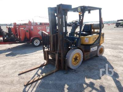 DOOSAN G25E3 4600 Lb Forklift