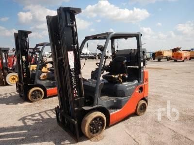TOYOTA 8FGCU25 2800 Lb Forklift