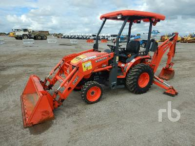 2018 KUBOTA B26TLB 4x4 Loader Backhoe