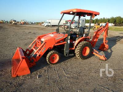 2018 KUBOTA B26TLB Loader Backhoe