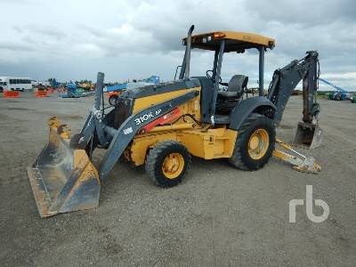 2014 JOHN DEERE 310KEP 4x4 Loader Backhoe