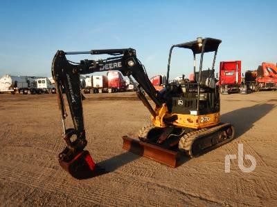 2014 JOHN DEERE 27DX Mini Excavator (1 - 4.9 Tons)