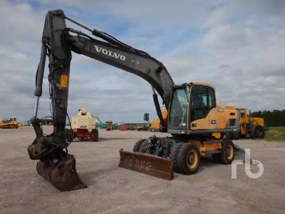 2012 VOLVO EW180D 4x4 Mobile Excavator