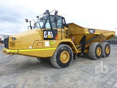 2014 CATERPILLAR 725C 6x6 Articulated Dump Truck