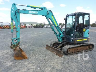2013 KOBELCO SK55SR Midi Excavator (5 - 9.9 Tons)