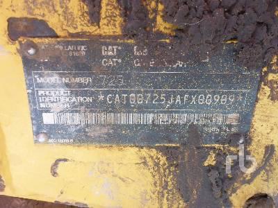 2003 CATERPILLAR 725 6x6 Articulated Dump Truck