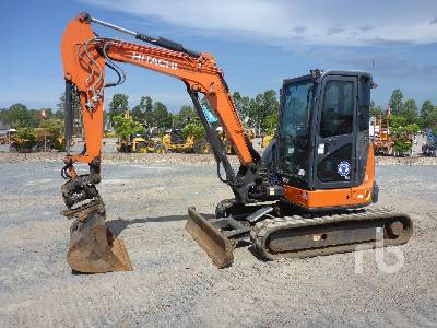 2015 HITACHI ZX48U-5A Mini Excavator (1 - 4.9 Tons)