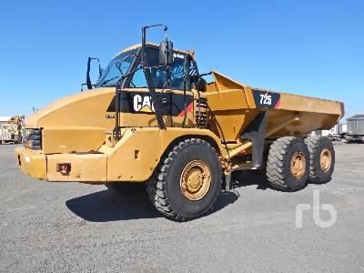 2009 CATERPILLAR 725 6x6 Articulated Dump Truck
