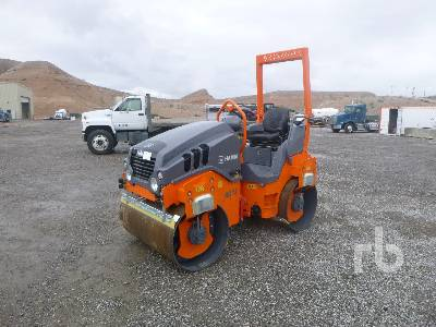 2019 HAMM HD12VV Tandem Vibratory Roller