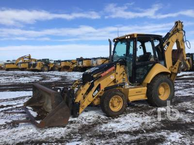 2011 CATERPILLAR 420EIT 4x4 Loader Backhoe