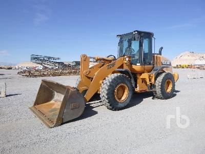 2011 CASE 721F Wheel Loader