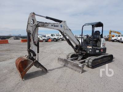 2016 BOBCAT E50 Mini Excavator (1 - 4.9 Tons)