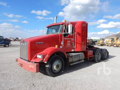 2009 KENWORTH T800 T/A Sleeper Winch Tractor