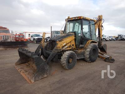 2001 CATERPILLAR 420D 4x4 Loader Backhoe