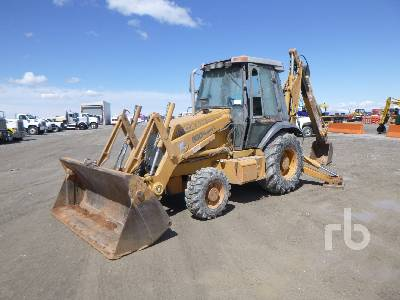 1997 CASE 580SL 4x4 Loader Backhoe