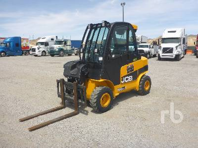 2018 JCB TLT35D 7000 Lb 4x4 Telescopic Forklift