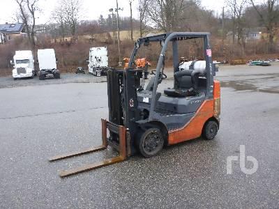 2008 TOYOTA 8FGCU25 4250 Lb Forklift