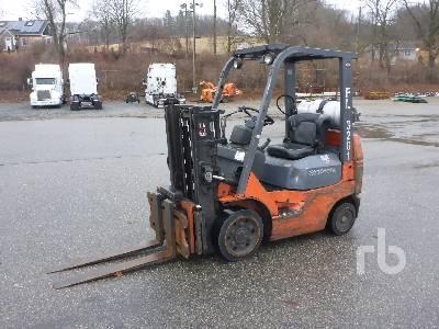 2006 TOYOTA 7FGCU20 3150 Lb Forklift