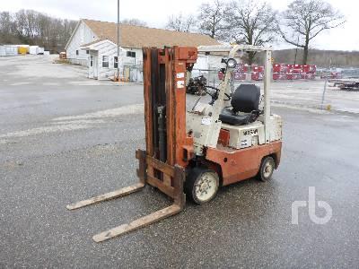 NISSAN CPF02A25V 4300 Lb Forklift
