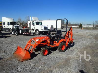 2015 KUBOTA BX25DLB 4WD Utility Tractor
