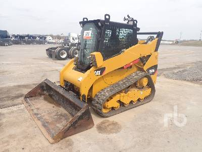 2013 CATERPILLAR 259B3 2 Spd High Flow Compact Track Loader