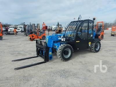 2018 GENIE GTH2506 5500 Lb 4x4x4 Telescopic Forklift