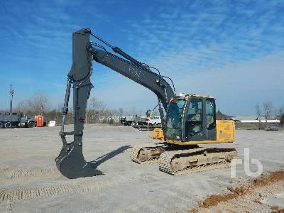 2012 JOHN DEERE 120D Hydraulic Excavator