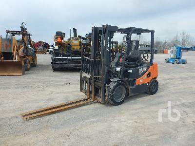 2013 DOOSAN G30P-5 5500 Lb Forklift