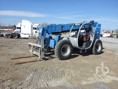 2012 GENIE GTH844 8000 Lb 4x4x4 Telescopic Forklift