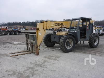 2011 GEHL RS844 8000 Lb 4x4x4 Telescopic Forklift
