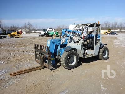 2012 GENIE GTH5519 5500 Lb 4x4x4 Telescopic Forklift