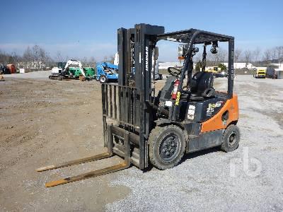 2013 DOOSAN D25S5 4600 Lb Forklift