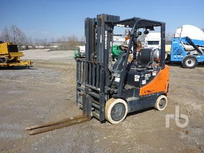 2014 DOOSAN GC25E5 4300 Lb Forklift