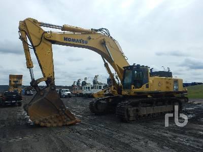 2011 KOMATSU PC800LC-8E0 Hydraulic Excavator