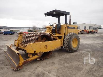 1993 CATERPILLAR CP563 INOPERABLE Vibratory Padfoot Compactor