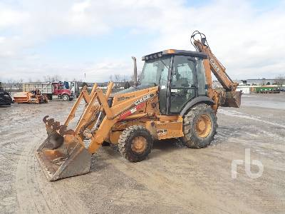2004 CASE 580SM Series 2 4x4 Loader Backhoe