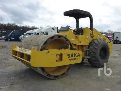 2011 SAKAI SV505 Vibratory Padfoot Compactor