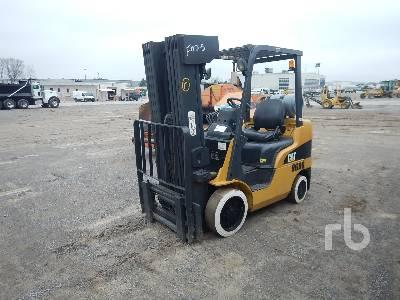 CATERPILLAR C5000 INOPERABLE 4750 Lb Forklift