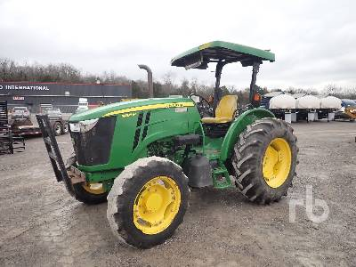2014 JOHN DEERE 5085M MFWD Tractor