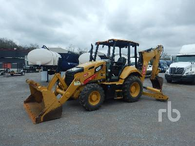 2016 CATERPILLAR 420F2 4x4 Loader Backhoe