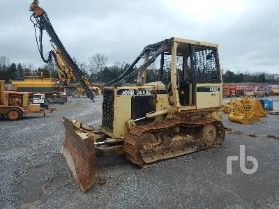1996 JOHN DEERE 450G INOPERABLE Crawler Tractor