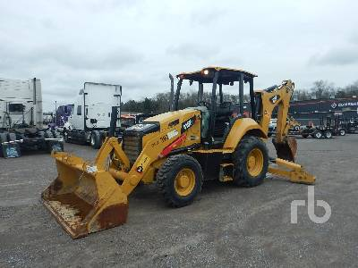 2016 CATERPILLAR 415F2 4x4 Loader Backhoe