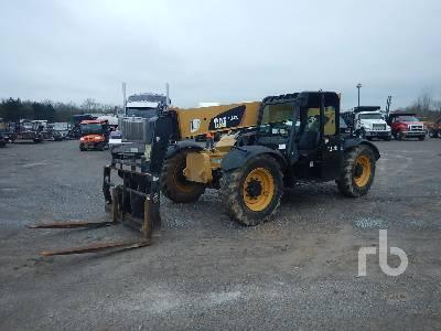 2014 CATERPILLAR TL642C 6500 Lb 4x4x4 Telescopic Forklift