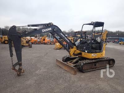 2012 JOHN DEERE 50D Mini Excavator (1 - 4.9 Tons)