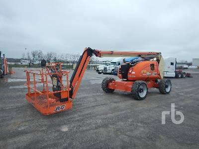 2017 JLG 600AJ 4x4 Articulated Boom Lift