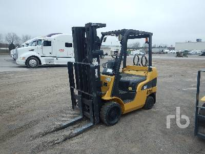 CATERPILLAR C5000 INOPERABLE 4750 Lb Forklift