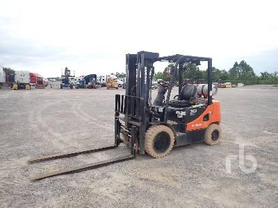 2015 DOOSAN G30E5 DF Forklift