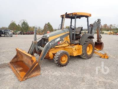 2012 JOHN DEERE 310J 4x4 Loader Backhoe