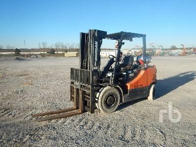 2013 DOOSAN G35S-5 6950 Lb Forklift